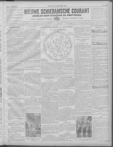 Nieuwe Schiedamsche Courant 1932-08-08