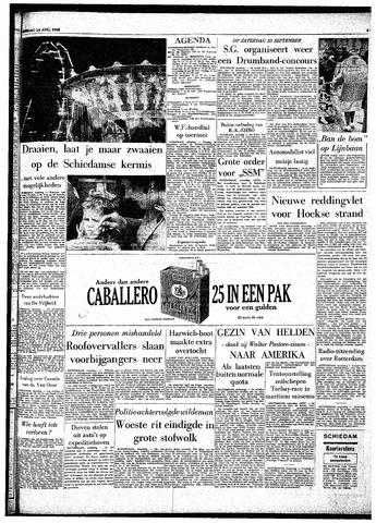 Rotterdamsch Parool / De Schiedammer 1962-08-14