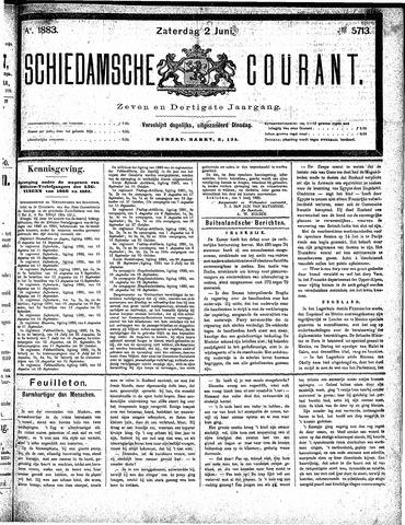 Schiedamsche Courant 1883-06-02
