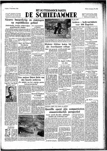 Rotterdamsch Parool / De Schiedammer 1948-09-17
