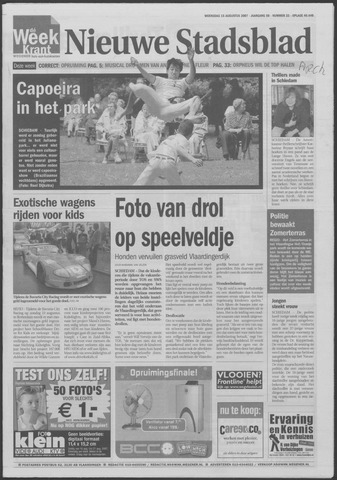 Het Nieuwe Stadsblad 2007-08-15