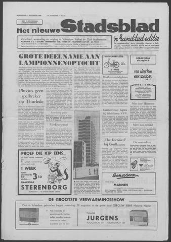Het Nieuwe Stadsblad 1966-08-17