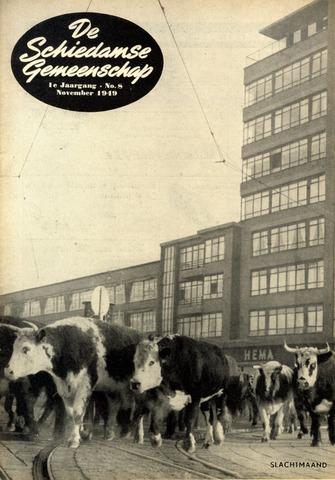 Schiedamse Gemeenschap (tijdschrift) 1949-11-01