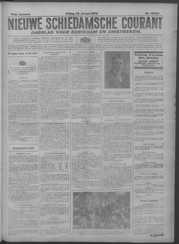Nieuwe Schiedamsche Courant 1929-01-25