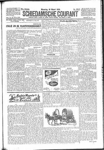 Schiedamsche Courant 1931-03-16