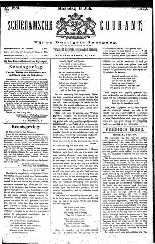 Schiedamsche Courant 1881-07-11