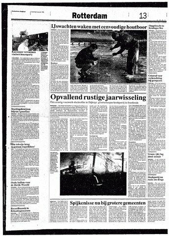 Rotterdamsch Nieuwsblad / Schiedamsche Courant / Rotterdams Dagblad / Waterweg / Algemeen Dagblad 1993-01-02