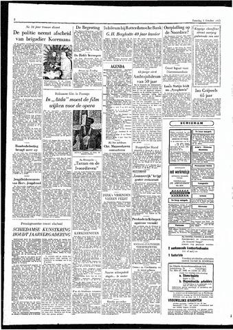 Rotterdamsch Parool / De Schiedammer 1955-10-01