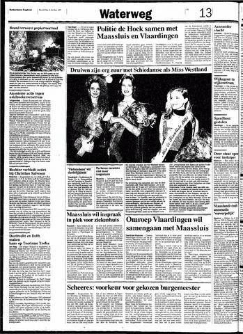 Rotterdamsch Nieuwsblad / Schiedamsche Courant / Rotterdams Dagblad / Waterweg / Algemeen Dagblad 1991-10-31