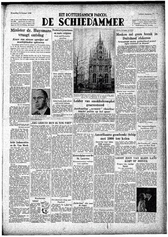 Rotterdamsch Parool / De Schiedammer 1948-01-14