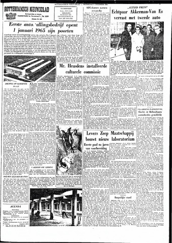 Rotterdamsch Nieuwsblad / Schiedamsche Courant / Rotterdams Dagblad / Waterweg / Algemeen Dagblad 1964-12-09
