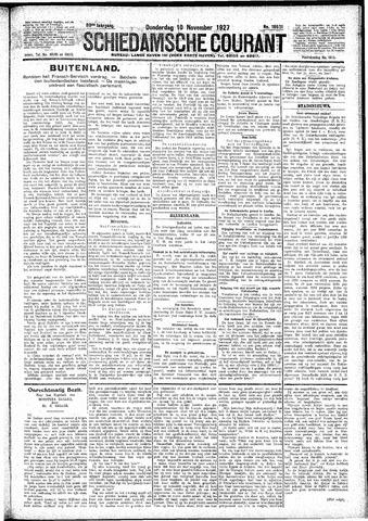 Schiedamsche Courant 1927-11-10
