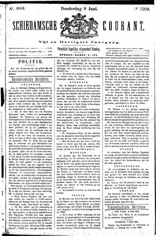 Schiedamsche Courant 1881-06-09
