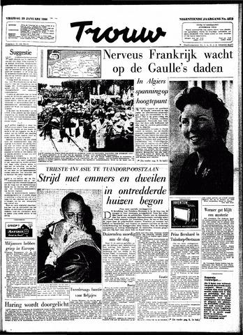 Trouw / De Rotterdammer 1960-01-29