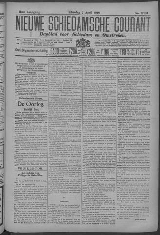 Nieuwe Schiedamsche Courant 1918-04-02