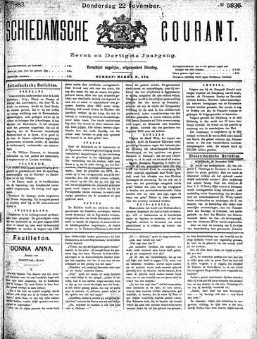 Schiedamsche Courant 1883-11-22