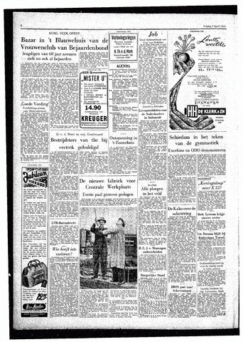 Rotterdamsch Parool / De Schiedammer 1955-04-01