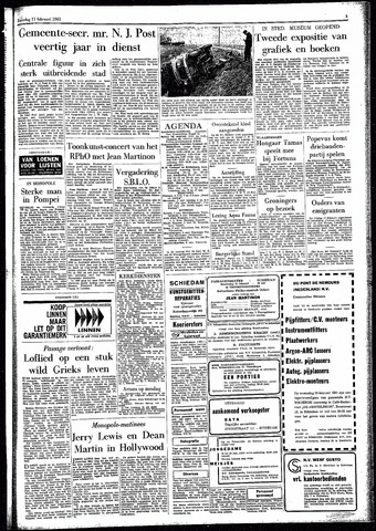 Rotterdamsch Parool / De Schiedammer 1961-02-11