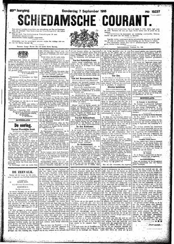 Schiedamsche Courant 1916-09-07