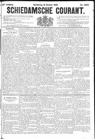 Schiedamsche Courant 1908-10-15
