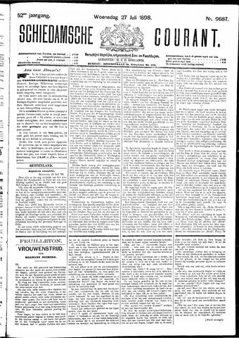 Schiedamsche Courant 1898-07-27