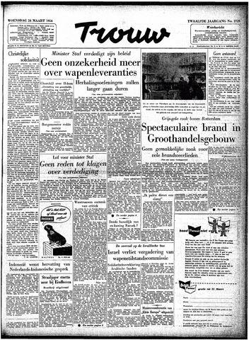 Trouw / De Rotterdammer 1954-03-24
