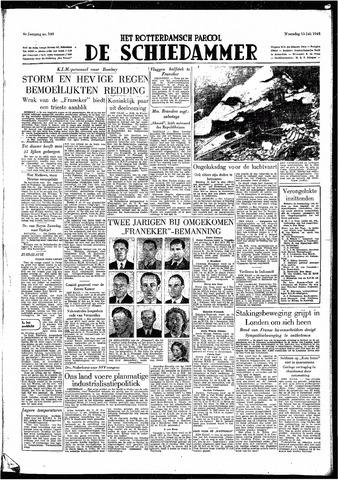 Rotterdamsch Parool / De Schiedammer 1949-07-13