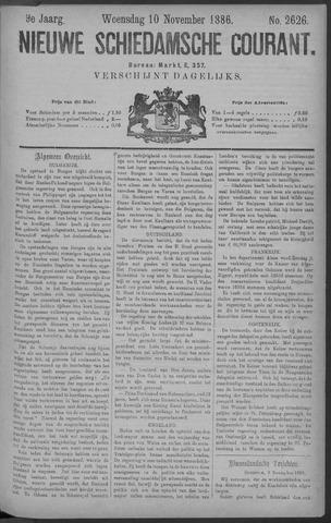 Nieuwe Schiedamsche Courant 1886-11-10
