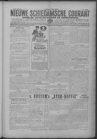 Nieuwe Schiedamsche Courant 1925-03-21