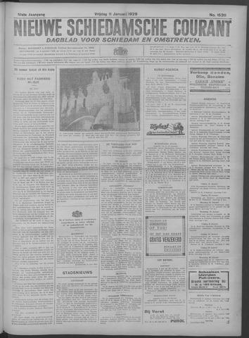 Nieuwe Schiedamsche Courant 1929-01-11