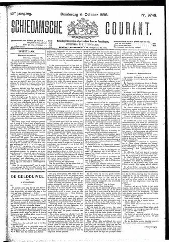 Schiedamsche Courant 1898-10-06