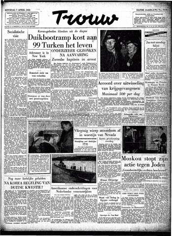 Trouw / De Rotterdammer 1953-04-07