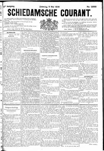 Schiedamsche Courant 1908-05-09