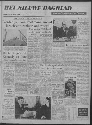 Nieuwe Schiedamsche Courant 1961-04-11