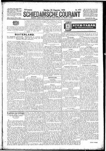 Schiedamsche Courant 1929-08-20