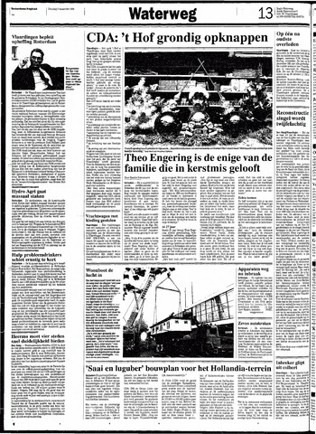 Rotterdamsch Nieuwsblad / Schiedamsche Courant / Rotterdams Dagblad / Waterweg / Algemeen Dagblad 1991-11-05