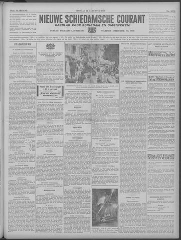 Nieuwe Schiedamsche Courant 1933-08-22