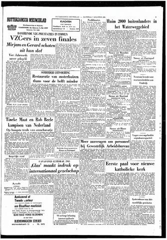 Rotterdamsch Nieuwsblad / Schiedamsche Courant / Rotterdams Dagblad / Waterweg / Algemeen Dagblad 1965-08-07