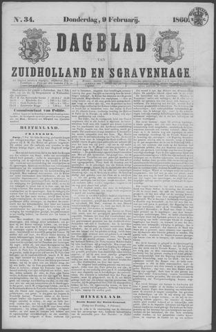 Dagblad van Zuid-Holland 1860-02-09