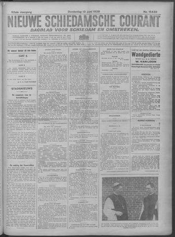 Nieuwe Schiedamsche Courant 1929-06-13
