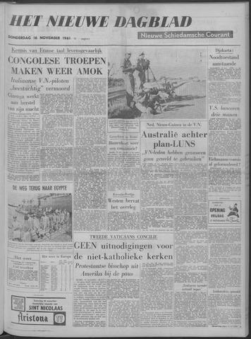Nieuwe Schiedamsche Courant 1961-11-16