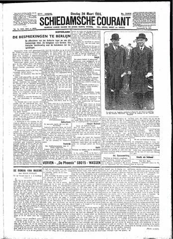 Schiedamsche Courant 1935-03-26