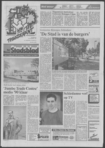 Het Nieuwe Stadsblad 1989-11-22