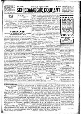 Schiedamsche Courant 1929-09-02
