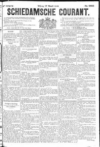 Schiedamsche Courant 1908-03-27