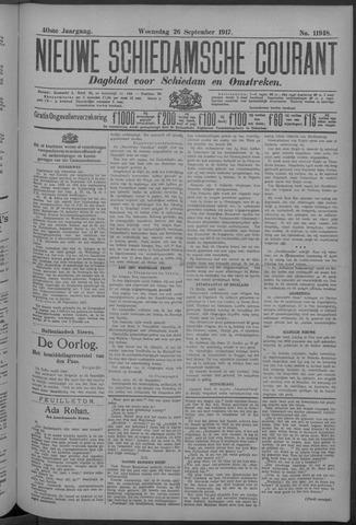 Nieuwe Schiedamsche Courant 1917-09-26