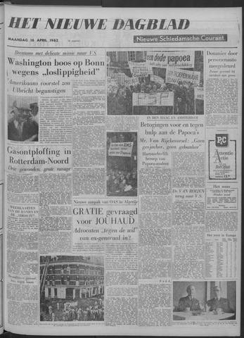 Nieuwe Schiedamsche Courant 1962-04-16