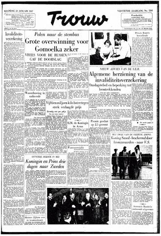 Trouw / De Rotterdammer 1957-01-21