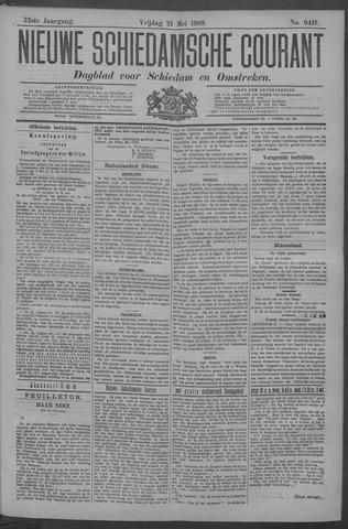 Nieuwe Schiedamsche Courant 1909-05-21