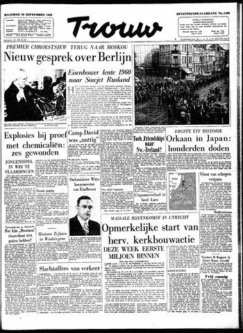 Trouw / De Rotterdammer 1959-09-28